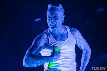 """Концерт британской группы The Prodigy в """"Минск-Арене""""."""