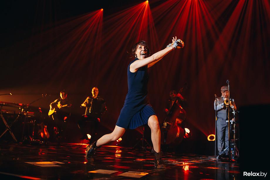 Концерт французской певицы ZAZ в Минске