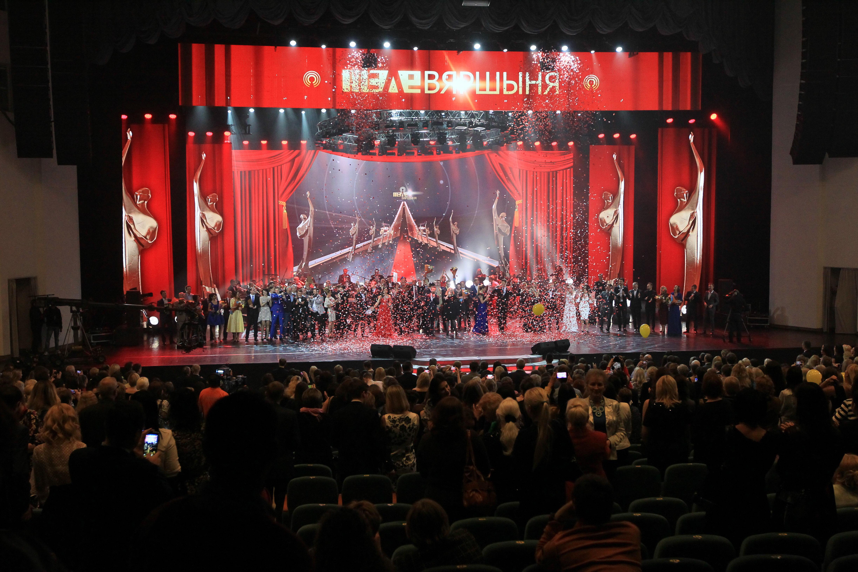 Во Дворце республики прошла церемония награждения победителей XII Национального телевизионного конкурса «Телевершина».