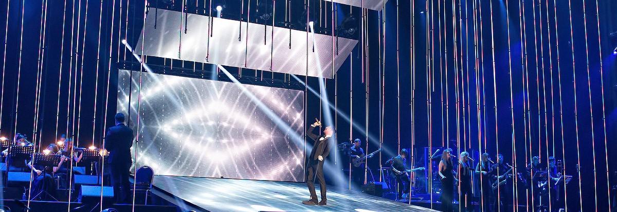 "Концерта Александра Панайотова ""Непобедимый"" в Крокус Сити Холл"