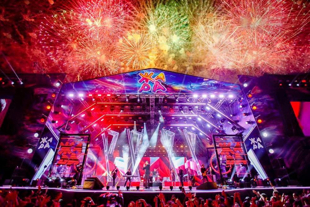 Фестиваль «ЖАРА 2019» в Баку.