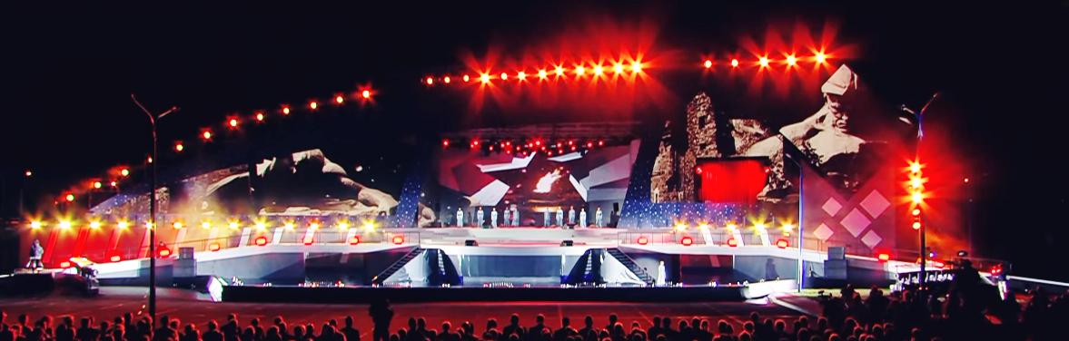 Празднование тысячелетия Бреста. Шоу «Миллениум».