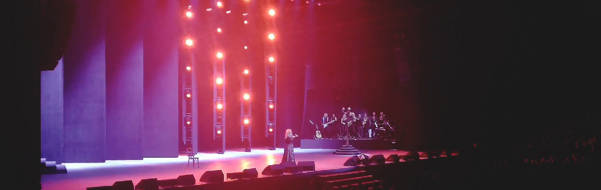 Юбилейный концерт Аллы Пугачевой в Минск-Арене.
